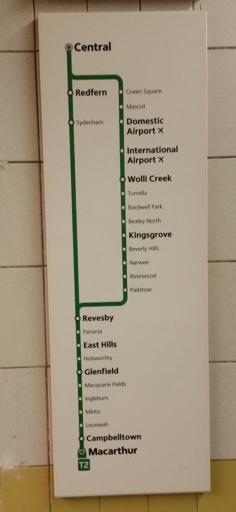 Sydney Trains Wayfinding Signage - DecoSign